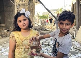 «نانا ومحمود».. حكاية طفلين أنقذا سمكة وعصافير من قصف غزة: خوفنا عليهم