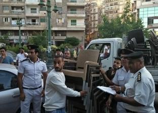 أحياء الإسكندرية تشن حملات موسعة لإزالة التعديات على الطريق العام