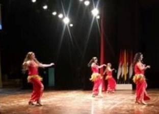 """""""فرقة رضا"""" تقدم عروض راقصة بجامعة المنيا.. """"نحارب التعصب"""""""