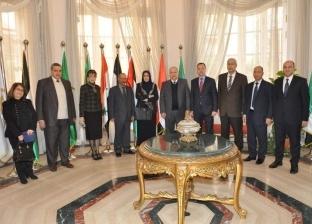 بالصور| رئيس مجلس الدولة يُستقبل نظيره العراقي لبحث سبل التعاون