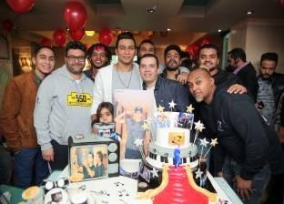 أورتيجا يحتفل بعيد ميلاده بحضور أوكا ومي كساب