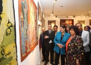 بالصور| وزيرة الثقافة تفتتح مهرجان الحرف التراثية وتشهد حفل نصر أكتوبر