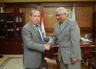 محافظ كفر الشيخ يشكر مدير الأمن ورئيس مدينة دسوق