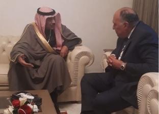 وزير الخارجية يلتقي نائب رئيس مجلس الوزراء ووزير الخارجية الكويتي
