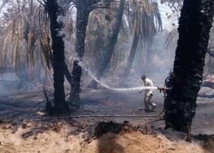حريق هائل يتسبب في خسائر مادية ضخمة شرق دارفور