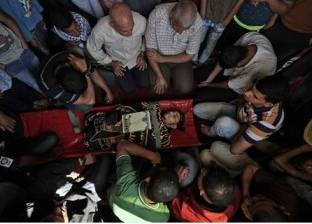 تشييع جثمان شاب استشهد برصاص جيش الاحتلال الإسرائيلي في غزة