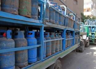 الرقابة الإدارية تحرر قضايا ببيع إسطوانات بوتاجاز بأغلى من ثمنها ببورسعيد