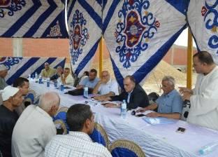 بالصور| رئيس المحلة يوجه باستكمال أعمال رصف وصيانة طريق عزبة الشرقية