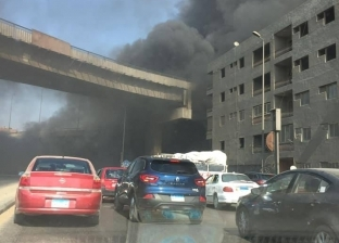 "فتح ""دائري بهتيم"" بعد غلقه بسبب انقلاب سيارة نقل محملة بـ""صابون سائل"""