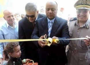 بالصور| مدير أمن الغربية يفتتح السجل المدني بقرية نشيل بقطور