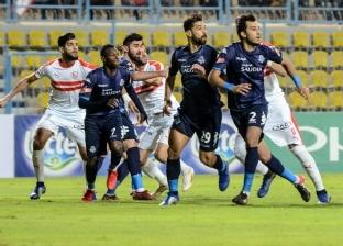 """قبل مباراة الزمالك وبيراميدز: """"لا الحكم المصري نافع ولا الأجنبي شافع"""""""