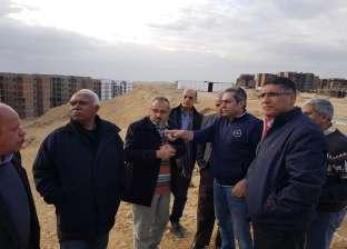 نائب وزير الإسكان يتفقد مشروعات القاهرة الجديدة