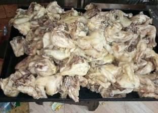 """""""الطب البيطري"""" تضبط طن دجاج فاسد في الجيزة"""