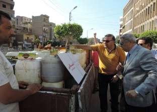 ضبط طن عسل جلوكوز بدون فواتير في الغربية