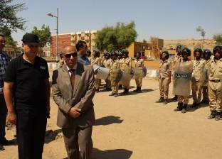 مدير أمن أسوان يتفقد إدارة قوات الأمن ومركز التدريب
