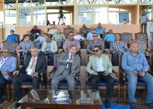 محافظ الإسماعيلية يشهد مراسم افتتاح بطولة كأس الأمم الإفريقية للهوكي
