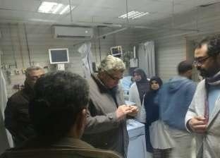 """""""طب بنها"""" تعلن جاهزية المستشفى الجامعي خلال احتفالات عيد الميلاد"""