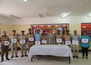 مدير أمن المنيا يشهد ختام الدورة الـ67 لتنمية مهارات رجال الشرطة