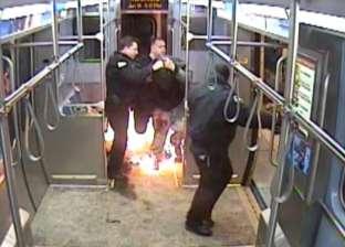 """عامل يشعل النار في ملابسه داخل مطابع """"أخبار اليوم"""""""