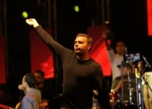 رامي صبري يتألق في حفل جامعة دراية بالمنيا