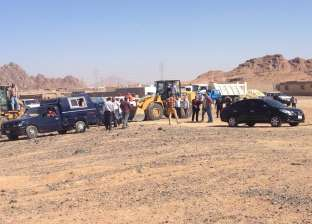 حملات لإزالة التعديات على الأراضي الزراعية في أبوزنيمة