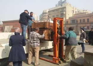 المتحف القومي للحضارة المصرية يستقبل 800 قطعة أثرية من المتحف المصري