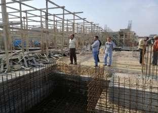 """وقف أعمال بناء مخالف واستخراج 39 رخصة """"هدم"""" بالمنيا"""