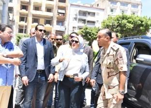وزيرة الصحة: الانتهاء من مبنى العيادات الخارجية بمستشفى بورسعيد العام
