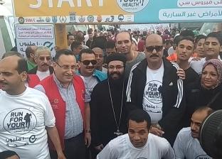 """محافظ الإسكندرية: مليون و600 ألف شاركوا في مبادرة """"100 مليون صحة"""""""