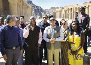 «السيسى» يحاور شباب العرب وأفريقيا بمعابد «فيلة».. ختام تاريخى لـ«ملتقى المستقبل»