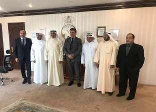 """رئيس """"الوطنية للإعلام"""" يلتقي """"الجبري"""" في الكويت لبحث تعزيز التعاون"""