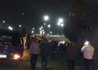 مصرع مساعد مدير أمن المنيا بعد اصطدام سيارة شرطة بعامود إنارة