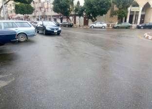 سقوط أمطار خفيفة على قرى ومدن شمال سيناء
