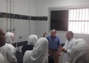 """مدير عام الطب العلاجي بـ""""صحة البحيرة"""" يتابع الخدمة بمستشفى شبراخيت"""