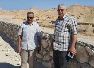 حامد يتفقد أعمال حماية الحي الأول والمنطقة الصناعية في مدينة أبوزنيمة