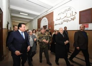 الخشت: بدء خطوات رفع كفاءة طواريء قصرالعيني بتوجيه من القيادة السياسية