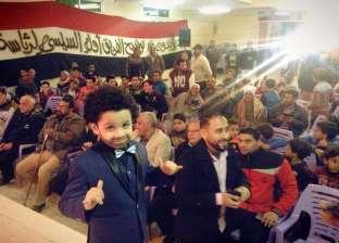 """بالصور  أصغر شبيه لمحمد صلاح يظهر في مسقط رأسه بـ""""نجريج"""""""