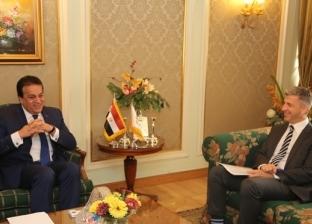عبد الغفار يستقبل سفير قبرص لبحث تعزيز التعاون بين البلدين