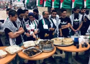 """""""طب الإسكندرية"""" تنظم يوم الجاليات العربية بمشاركة 100 طالب فلسطيني"""