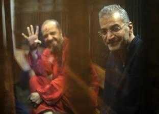 بدء جلسة محاكمة محمد بديع و738 آخرين في قضية فض اعتصام رابعة