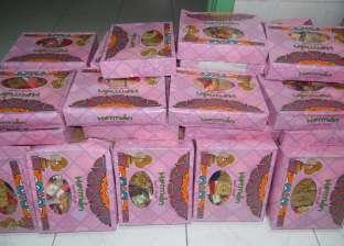ضبط 2800 قطعة حلوى مولد مجهولة المصدر في حملة بالبحيرة