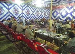 بالصور| مديرية أمن أسيوط تنظم حفل إفطارا لأهالي المحافظة أمام قسم شرطة