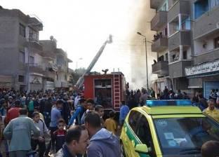 مصرع طفلتين إثر نشوب حريق بشقة في الإسكندرية