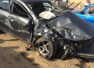 مصرع شخصين وإصابة 7 آخرين إثر انقلاب سيارة ميكروباص في قنا