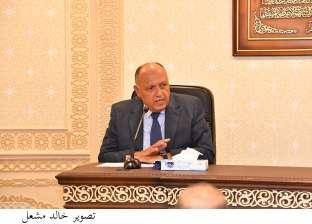 وزير الخارجية يؤكد لنظيره الإسرائيلي ضرورة وقف الاعتداءات على أراضي فلسطين