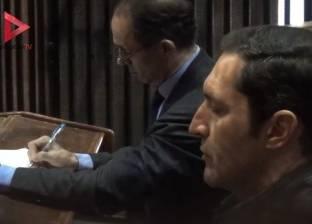 """تأجيل محاكمة نجلي مبارك في """"التلاعب بالبورصة"""" لحضور اللجنة الفنية"""