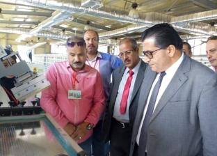 """بالصور  """"تعليم جنوب سيناء"""": افتتاح مصنع الليد بأبوزنيمة الشهر المقبل"""