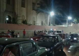 بالصور  إبطال مفعول قنبلة صوتية بنفق ميدان ستوتة في طنطا