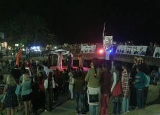 احتفالية شعبية بمدينة دهب بفوز الرئيس عبد الفتاح السيسي