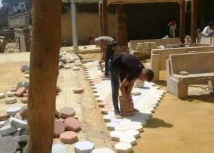 نقل سوق أخميم من أمام المنطقة الأثرية بسوهاج
